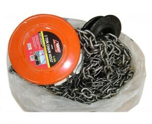 3 Ton 6000lb Chain Hoist Block And Tackle Lift Winch New Free Shipping