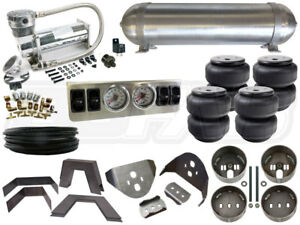 Air Bag Suspension Kit 1982 2003 Chevy Gmc S10 1 4 In Fbss Complete System