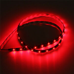 4ft 60 Led Strip Red 12v Flexible Self Adhesive Smd1210 For Car Truck Boat