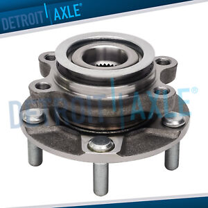 New Front Wheel Hub And Bearing Assembly W Abs Fits Nissan Sentra Rogue Select