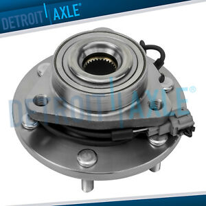 For Nissan Armada Titan Qx56 4wd Awd W abs Front Wheel Bearing And Hub