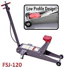 Gray Fsj 120 Floor Jack 6 Ton Air Hydraulic Us Made Free Shipping