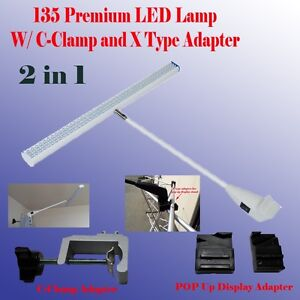 135 Led Display Light Booth Panel Pop Up Trade Show W Clamp Las Vegas Approved