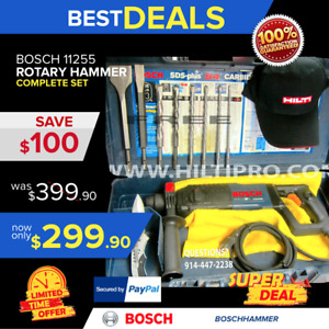 Bosch 11255vsr 1 Sds plus Rotary Hammer Preowned Hilti Te 2 Fast Shipping