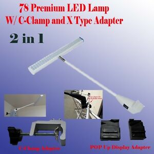 78 Led Display Light Booth Panel Pop Up Trade Show W Clamp Las Vegas Approved