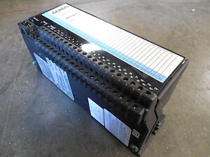 Used Ge Fanuc Ic660bbd024 Genius 12 24vdc Source Input Output Module