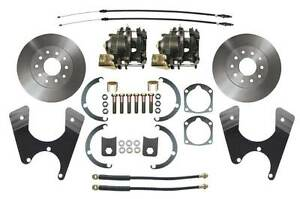 1955 68 Fullsize Chevy Cars Standard 10 12 Bolt Rear End Disc Brake Conversion