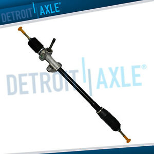 New Complete Manual Steering Rack And Pinion For 1988 1991 Honda Civic Crx