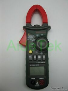 Mastech Ms2008a 3999 Ac Mini Clamp Meter Tester 600a 26mm 600v Jawbacklight Buzz
