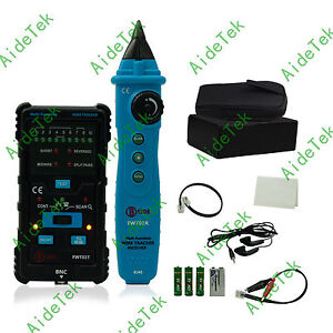 Fwt01 Network Lan Ethernet Wire Tracker Finder Telephone Line Cable Tester Rj45