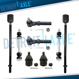 New 8pc Complete Front Suspension Kit Fits 1994 2004 Ford Mustang