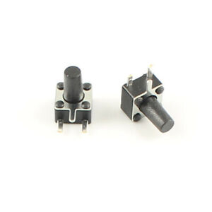 1000pcs Momentary Tactile Tact Push Button Switch 3 Pin Right Angle 4 5x4 5x7mm
