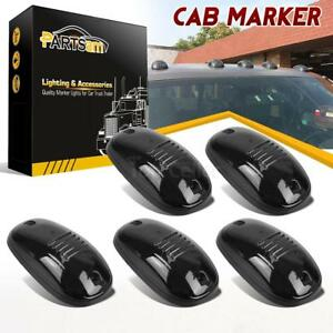 5xsmoke Cab Roof Top Marker Light Lens W Base For Dodge Ram 2500 3500 2003 2017