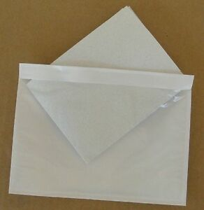 1000 Adhesive Packing List Shipping Label Envelope Pouch 7 5 X 5 5 Free Ship
