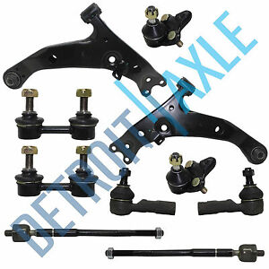For 1996 02 Toyota Corolla Lower Control Arm Ball Joint Tierod Hydraulic Rack