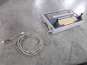 Used Carl Zeiss 608489 9914 Alpha Cmm Machine Teach Pendant Controller