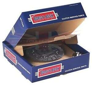 New Triumph Tr4a Tr6 Tr250 Borg And Beck 3 Piece Clutch Kit