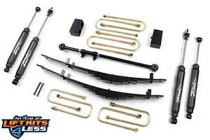 Zone Offroad F11n 4 Suspension Leveling Lift Kit For 2000 2005 Ford Excursion