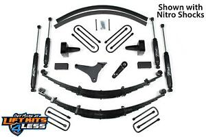 2000 2004 Ford F250 F350 6 Full Suspension Lift Kit Zone Offroad Top Rated F42