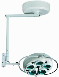 Yd02 5 On Ceiling Cold Light Operating Lamp Light For Surgical Operations Pt