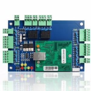 Wiegand Tcp ip Network Access Control Board Panel Controller For 2 Door 4 Reader
