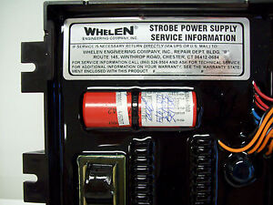 Whelen 6 Output Strobe Power Supply Mpdel Vpps6c Pt 01 0262264 00c