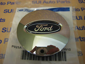 Ford Focus Taurus Escape Edge Fusion Flex Explorer Chrome Center Cap Oem New