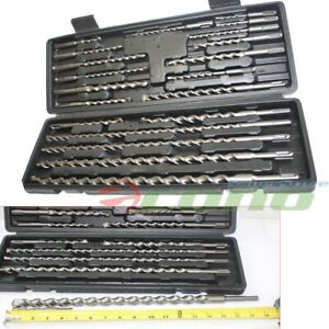 20 Pc Sds Plus Rotary Hammer Drill Bits Set Fit Hilti Bosch Dewalt