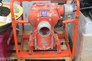 Mq Multiquip Contractor Gas Powered Water Pump Qp 40th