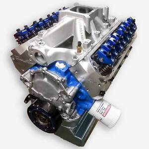 363 Small Block Ford Stroker Crate Engine All Forged Trick Flow Heads 580hp