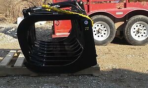 New Bobcat 72 Hd Root Brush Grapple 2 Cylinders Bobcat Attachment