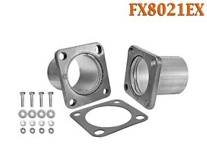 Fx8021ex 2 Id Universal Quickfix Exhaust Square Flange Repair Pipe Kit