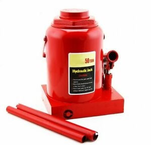 50 Ton Hydraulic Bottle Jack Heavy Duty Automotive Truck Shop Equipment 0 Ship