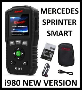 Mercedes Benz Sprinter Diagnostic Scanner Tool Oil Reset Icarsoft Mb V1 0 I980