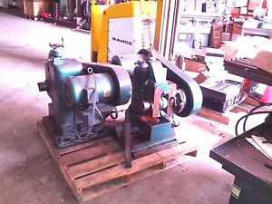 Burke 40 Taper 2 Axis Horizontal Milling Spindle 40 Taper Dodge Gear Box