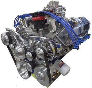 470hp 351 Cleveland Custom 393 Stroker Turn Key Crate Engine 351c All Aluminum
