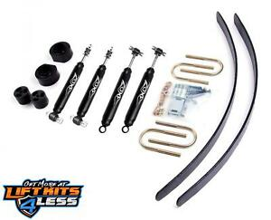 Zone Offroad 2 Full Suspension Lift Kit Top Rated For 1984 01 Jeep Cherokee Xj