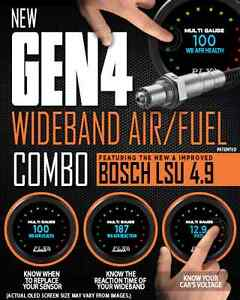 New Gen 4 Plx Air Fuel Module And Dm 6 Gauge Combo Free Priority Shipping