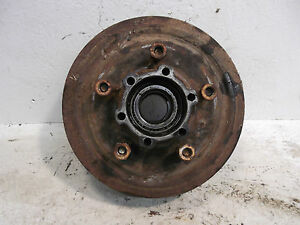 68 Jeep Jeepster Commando V6 Front Axle Hub Brake Drum W Bearings