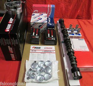 Chevy 1981 85 305 5 0 Master Engine Kit Torque Cam Pistons Rings Gaskets Springs