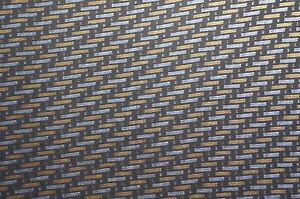 Black silver And Gold Carbon Fiber Hydrographic Film