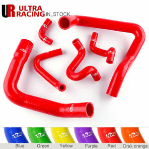 Zap Radiator Hose Kit Red Silicone For 86 93 Ford Mustang Gt Cobra V8 5 0l
