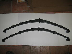Pair New Leaf Springs Uk Mgb Gt Only 1963 1974 Spring Made In The Uk