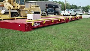 11 X 70 Portable Truck Scale With Guide Rails Made In Usa