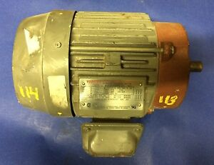 Toshiba Epact High Efficiency 3 Phase Induction Motor 2 Hp 1735 Rpm 230 460v