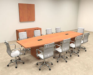 Modern Boat Shapedd 12 Feet Conference Table of con c61