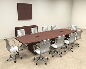 Modern Boat Shapedd 12 Feet Conference Table of con c62