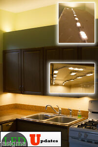 20ft Kitchen Under Cabinet Warm White Led Light With Dimmer Ul Power Supply