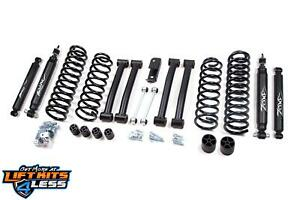 Zone Offroad J16n 4 Full Suspension Lift Kit For 1993 98 Jeep Grand Cherokee Zj