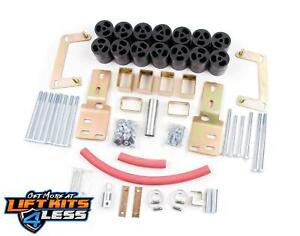Zone Offroad 3 Body Lift Kit Fits F9378 For 1998 2000 Ford Ranger